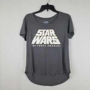 Star Wars High Low Tee Small